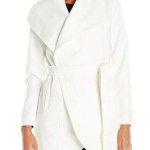 Jack by BB Dakota Jackets & Coats - NWOT Jack by BB Dakota Gitty Wrap Coat White - Sm
